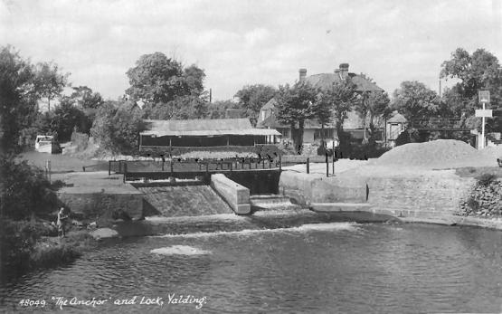 Boathouse, formerly the Anchor, Yalding